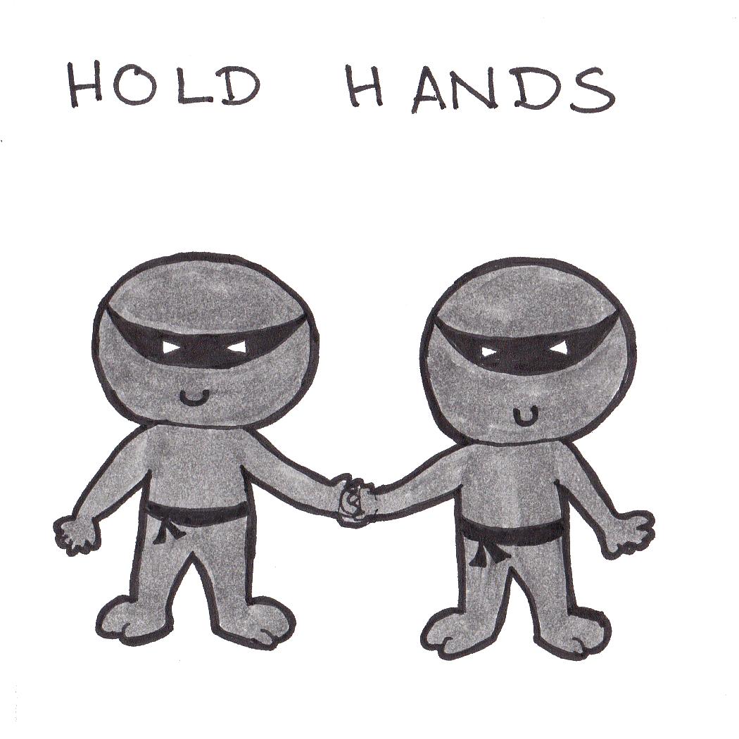 Rule 1: Hold hands