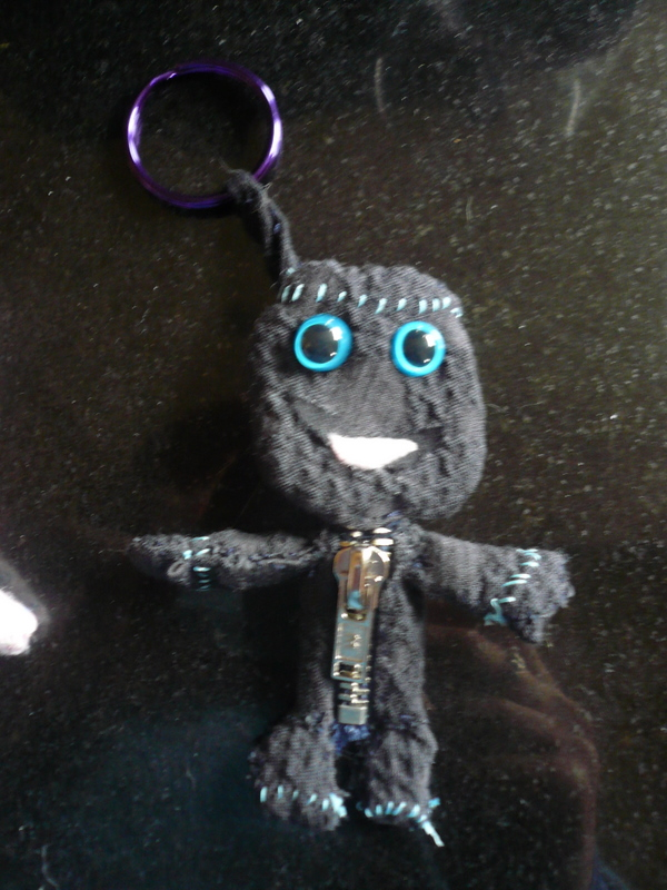 Sackboy from Little Big Planet as a keyring
